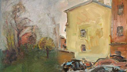 Художники Борис Борщ и Оксана Жирова. Двое на вершине
